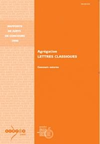 Anne Armand - Agrégation Lettres classiques - Concours externe.