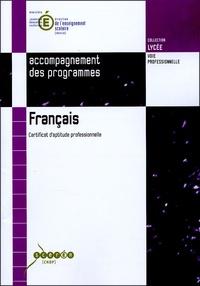 Anne Armand - Francais - Certificat d'aptitude professionnelle.