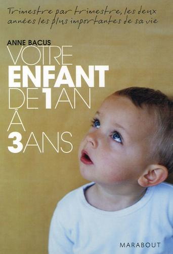 Anne Bacus - Votre enfant de 1 an à 3 ans.
