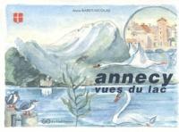 Anne Baret-Nicolas - Annecy, vues du lac.