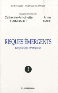 Anne Barr et Catherine-Antoinette Raimbault - Risques émergents - Un pilotage stratégique.