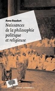 Deedr.fr Naissances de la philosophie politique et religieuse Image