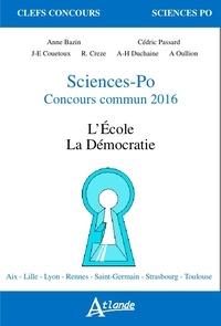 Anne Bazin et Didier Desponds - Sciences-Po concours commun - La famille, la mondialisation.