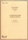 Anne Béchard-Léauté - La traduction comme source de création.
