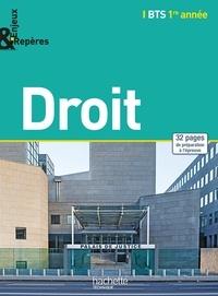 Anne-Bénédicte Branly-Merten et Corinne Gimeno - Droit Bts 1e année.