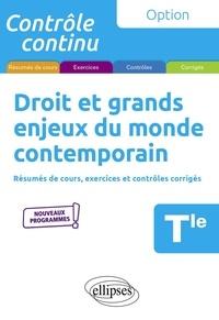 Anne Bernard-Grouteau et Anne Dagicour - Droit et grands enjeux du monde contemporain Tle.