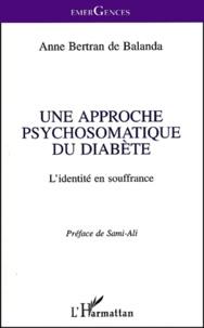 Histoiresdenlire.be Une approche psychosomatique du diabète. L'identité en souffrance Image