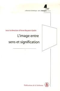 Limage entre sens et signification.pdf