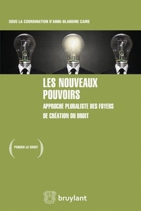 Lesmouchescestlouche.fr Les nouveaux pouvoirs - Approche pluraliste des foyers de création du droit Image