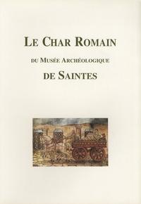Anne Bouchette - Le char romain du musée archéologique de Saintes.