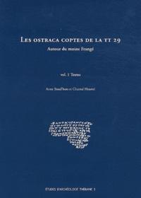 Anne Boud'hors et Chantal Heurtel - Les ostraca coptes de la TT 29 - Autour du moine Frangé, 2 volumes.
