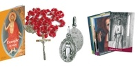 Anne-Caroline Valade et Sophie Meunier - Spi Box rouge - Avec un guide Spi ; 1 petit évangile ; 8 cartes de vie de saint ; 1 chapelet ; 1 médaille miraculeuse.