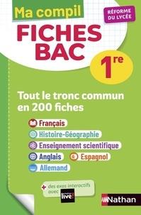 Anne Cassou-Noguès et Séléna Hébert - Ma Compil Fiches Bac 1re.
