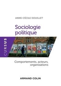Livres gratuits à télécharger sur Nook Color Sociologie politique  - Comportements, acteurs, organisations 9782200618643