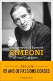 Anne Chabanon - Les Mémoires d'Edmond Simeoni.