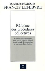 Anne Charvériat et Stéphane Martin - Réforme des procédures collectives.