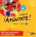 Anne Chauvigné Díaz - Espagnol 1re année Nuevo Apuntate !. 1 DVD