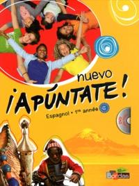 Anne Chauvigné Díaz - Espagnol 1re année Nuevo Apuntate ! A1-A2. 1 DVD