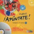 Anne Chauvigné Díaz - Espagnol 1re année Nuevo Apuntate ! - Matériel audio collectif. 2 CD audio