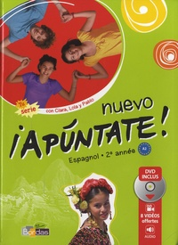 Anne Chauvigné Díaz - Espagnol 2e année Nuevo apuntate! A2. 1 DVD