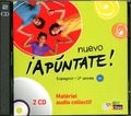 Anne Chauvigné Díaz - Espagnol 2e année Nuevo apuntate! A2. 2 CD audio