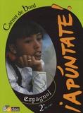 Anne Chauvigné Díaz - Espagnol 2e Apuntate ! - Carnet de bord.