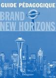 Anne Choffat-Dürr et Sarah Collin - Anglais 2e professionnelle et Tle BEP Brand New Horizons - Guide pédagogique.
