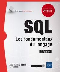 SQL- Les fondamentaux du langage - Anne-Christine Bisson pdf epub