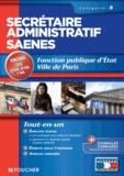 Anne-Claire Donzel et Micheline Friédérich - Secrétaire administratif SAENES catégorie B, concours 2013 - Fonction publique d'Etat, Ville de Paris.