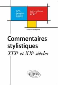 Commentaires stylistiques - XIXe et XXe siècles.pdf