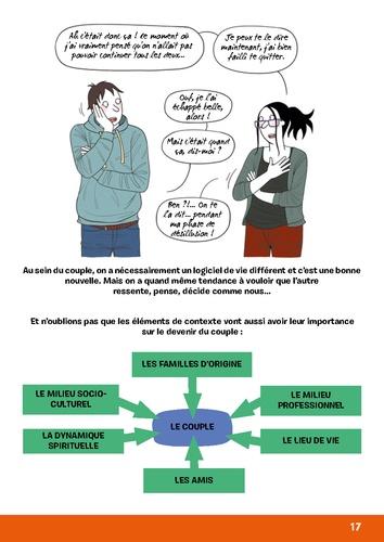 Petit décodeur illustré des parents en crise