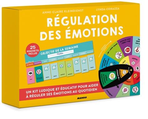 Régulation des émotions. Kit ludique et éducatif pour réguler les émotions de son enfant avec 25 magnets