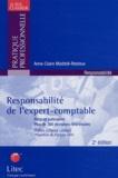 Anne-Claire Maddoli-Restoux - Responsabilité de l'expert-comptable - Risques judiciaires.