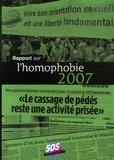 Anne Claret-Tournier et Jacques Lizé - Rapport sur l'homophobie.