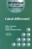 Anne Cot et Charles-Michel Marle - Calcul différentiel.