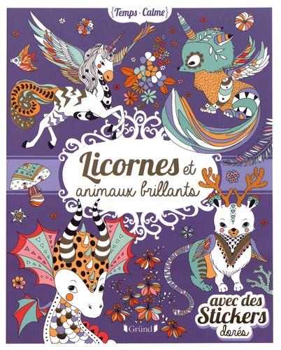 Anne Cresci - Licornes et animaux brillants.