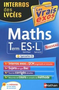 Anne Crouzier et Danièle Eynard - Mathématiques Tle ES-L.