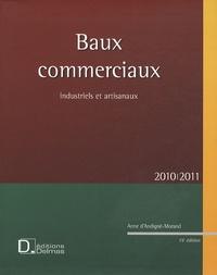 Anne d' Andigné-Morand - Baux commerciaux industriels et artisanaux - 2010-2011. 1 Cédérom