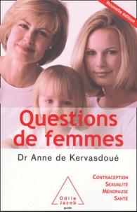 Anne de Kervasdoué - Questions de femmes.