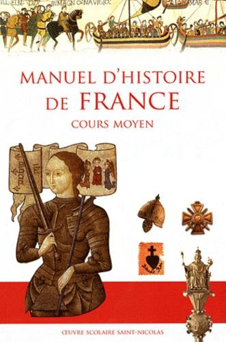 Anne de Mézeray - Manuel d'histoire de France Cours moyen.
