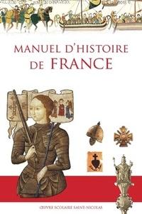 Anne de Mézeray - Manuel d'histoire de France.