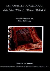 Anne de Saulce - Les fouilles du gazoduc  Artère des Hauts de France.