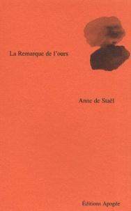 Anne de Staël - .