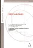 Anne Decroës et Bénédicte Petit - Droit judiciaire.