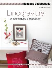 Anne Defréville - Linogravure et autres impressions.