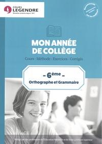 Anne Delabre - Orthographe et grammaire 6e.