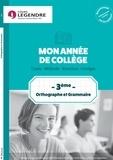 Anne Delabre - Orthographe grammaire 3e.