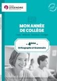 Anne Delabre - Orthographe grammaire 4e.