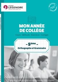 Anne Delabre - Orthographe grammaire 5e.