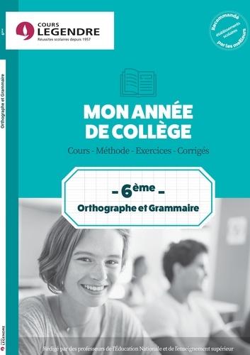 Anne Delabre - Orthographe grammaire 6e.